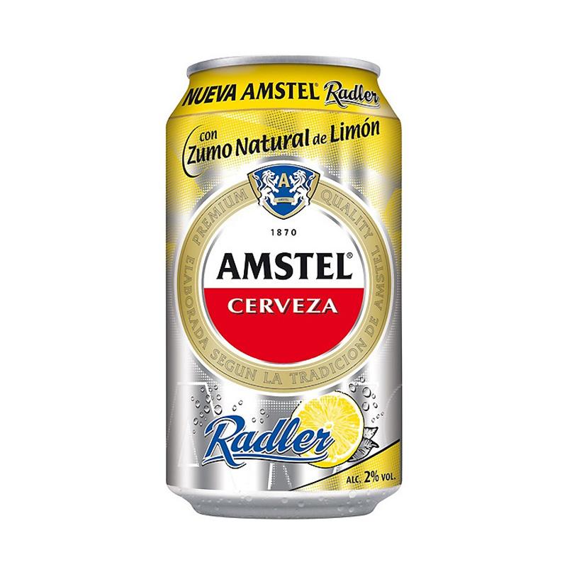 Sorteamos una caja de cerveza Amstel Radler, cedida por Distribuciones López Tortosa