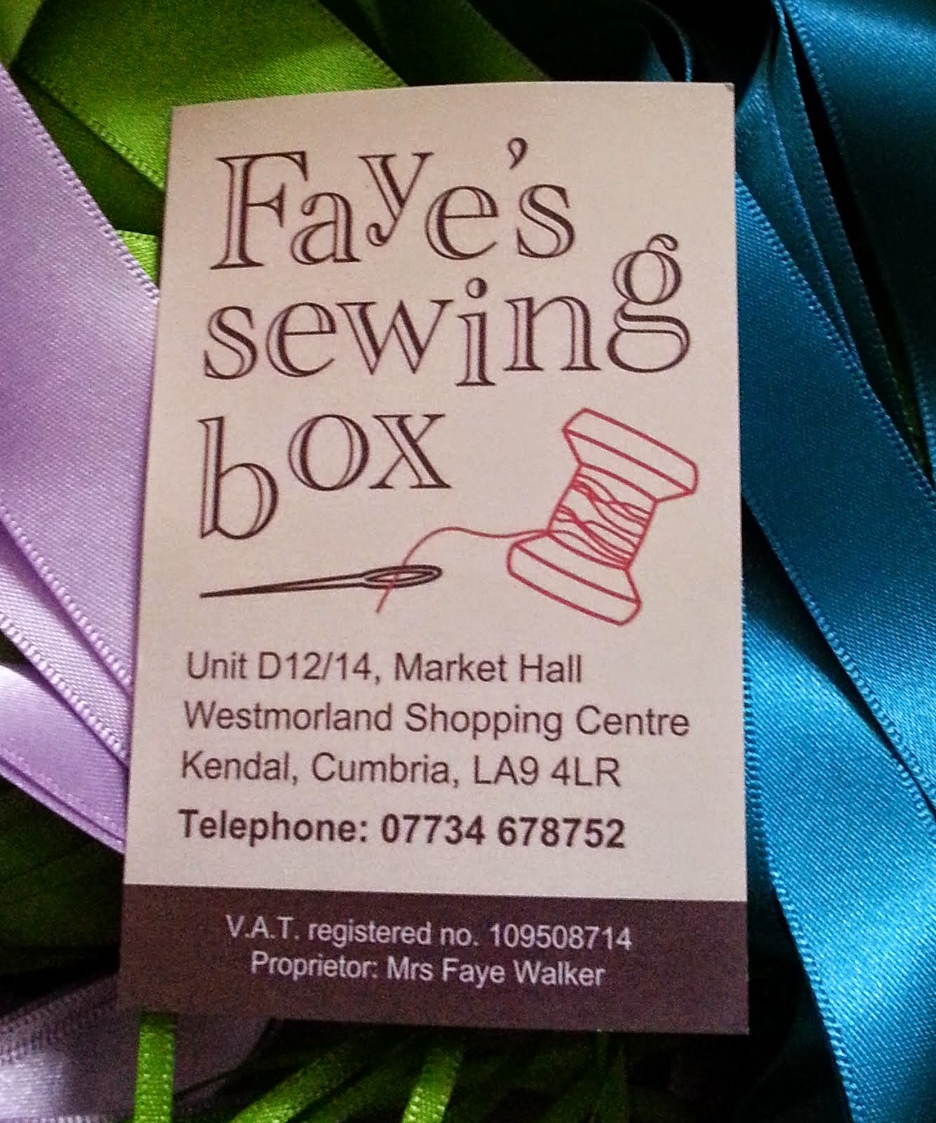 Faye's Sewing Box