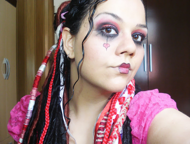 Tutorial Maquiagem, makeup Emilie Autumn