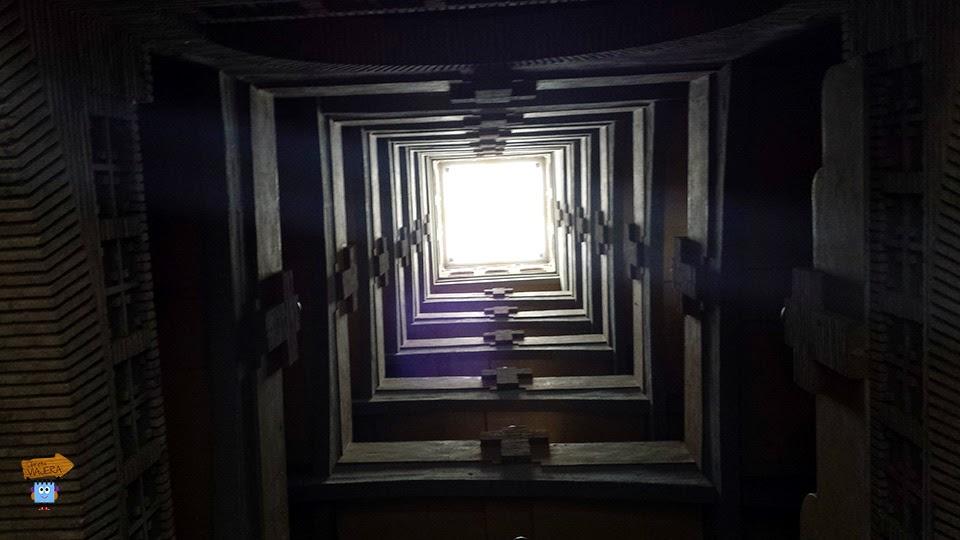 Interior Torre San Antonio de Padua Zaragoza