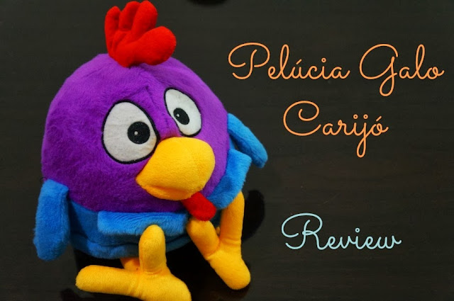 Pelúcia Galo Carijó - Review