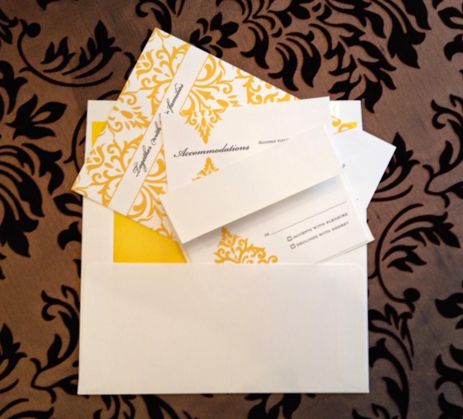 Wedding invitation etiquette envelope stuffing yaseen for for Wedding invitation stuffing etiquette