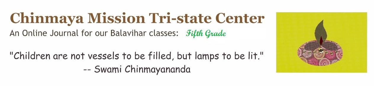 Chinmaya Vrindavan Fifth Grade