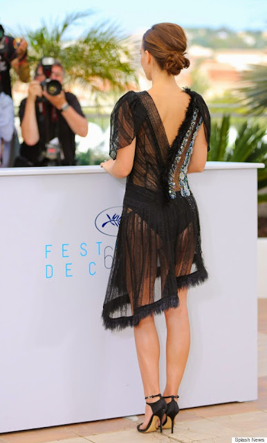 Natalie Portman Shows Major Skin at Cannes