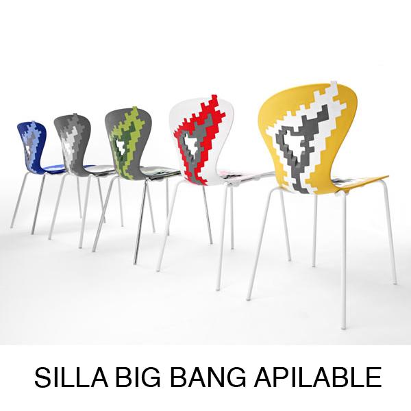 silla cocina moderna color