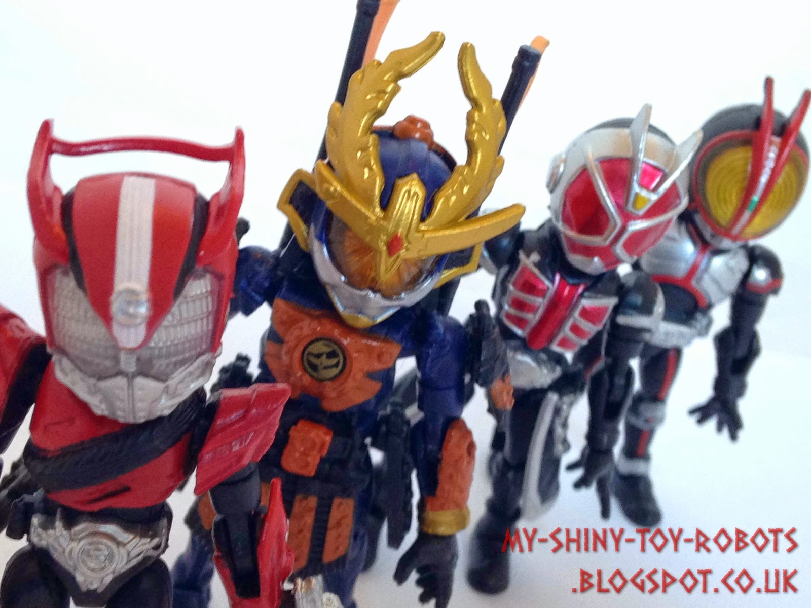 66action Kamen Riders Wave 4