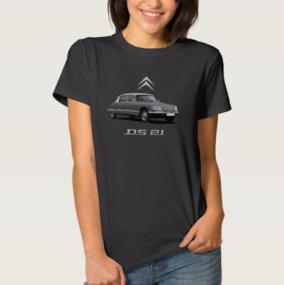 Citroën DS naisten t-paita