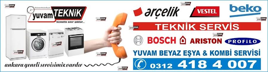 Ankara Beyaz Eşya Tamir Servisi 0312-4184007