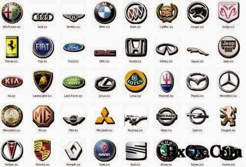 car logos and names