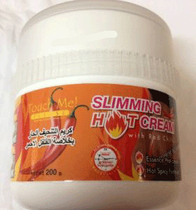 Red Chilli slimming hot cream