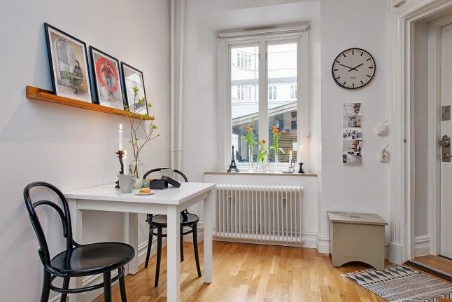 Minipiso con un toque femenino decorar tu casa es for Decorar un minipiso