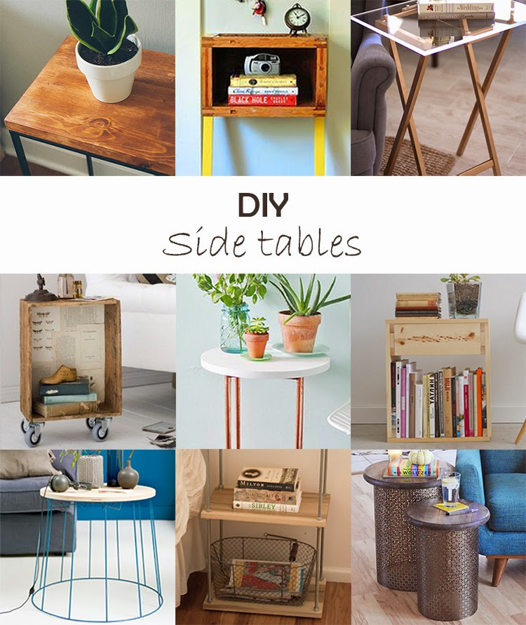 DIY Monday # Side tables
