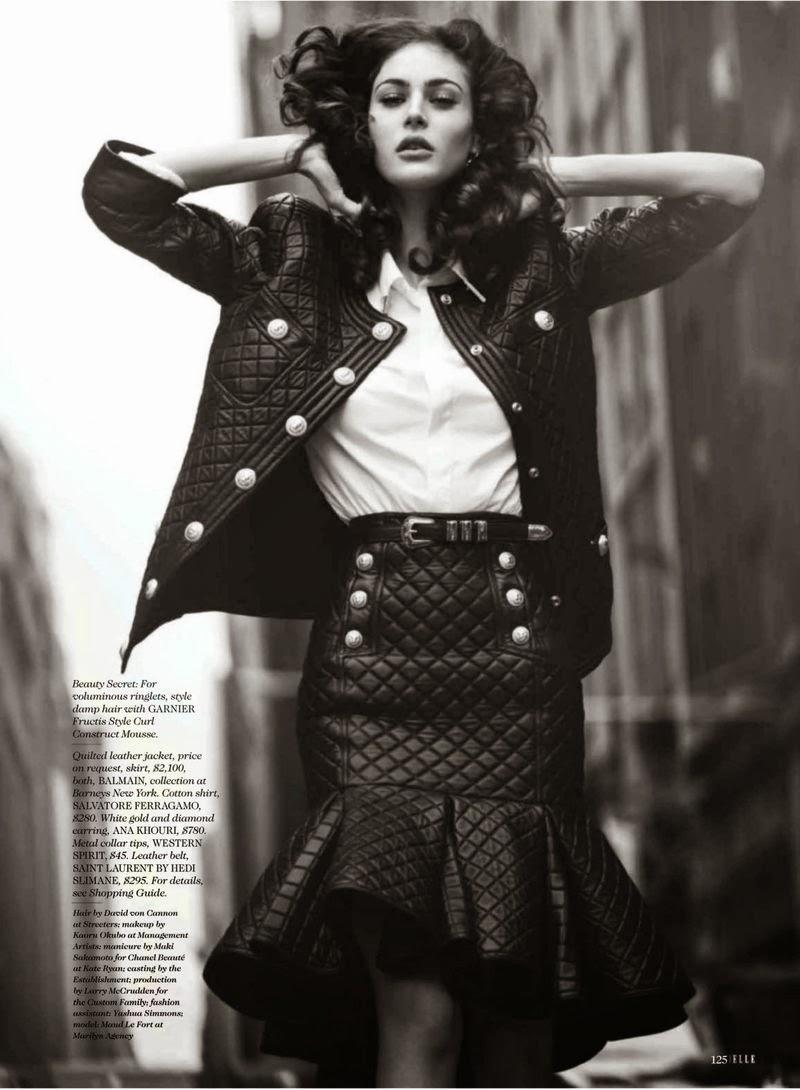 Crista Cober in Vogue Paris August 2015 by David Bellemere