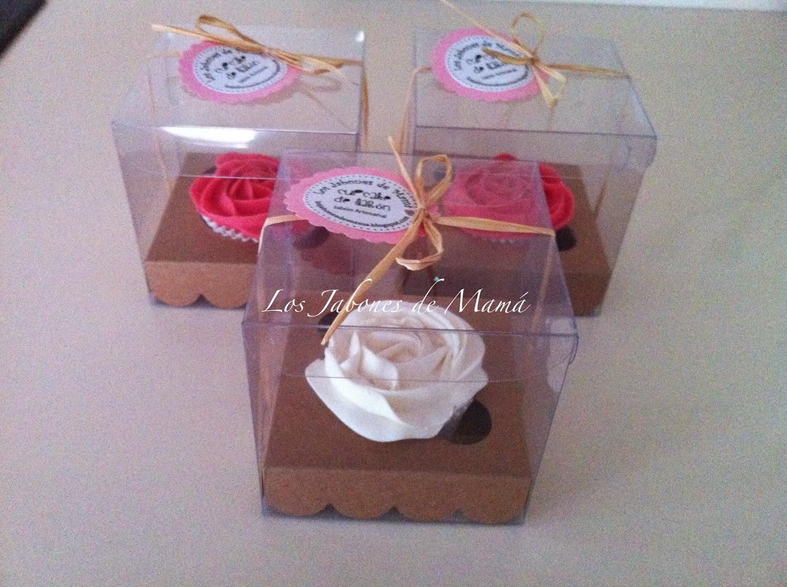 Los jabones de mam regalo de navidad cupcake en caja - Regalo navidad mama ...