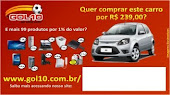 Compre um Gol 0Km por R$ 239,00, confira