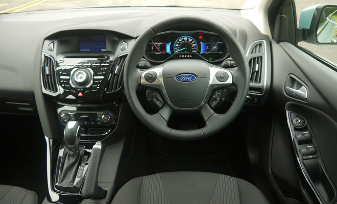 Ford Focus Electric cockpit