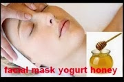 facial mask yogurt honey honey and yogurt face mask benefits