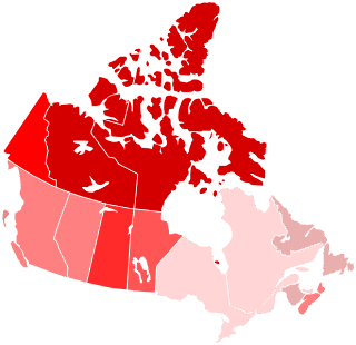 Map of Violent Crime Rates Across Canada - Source: Wikipedia