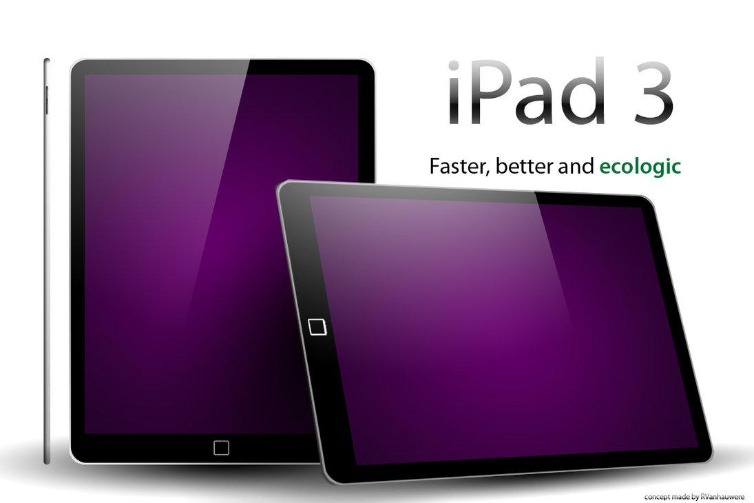 ipad+3 - C'est parti pour la production de l'iPad 3 !