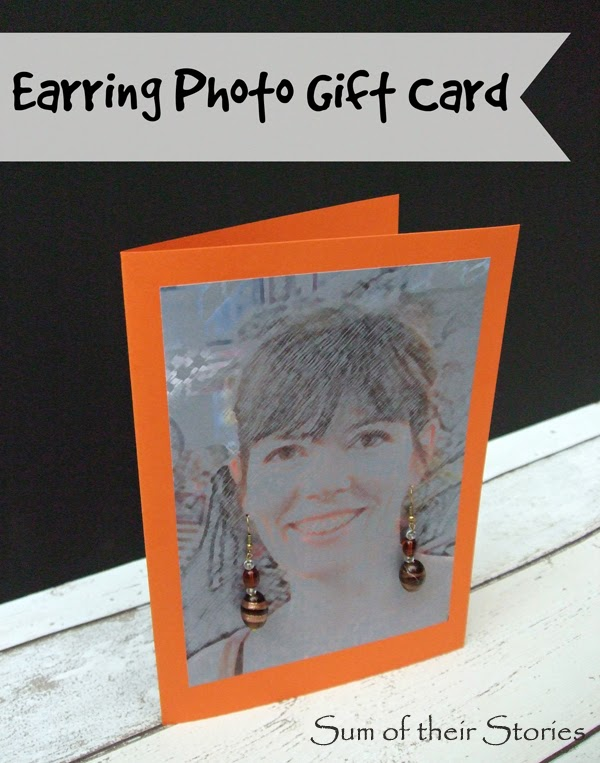Earring Photo Gift Card