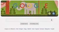 first parachute jump Google doodle Oct 2013