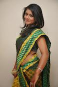 glamorous Anu Sri saree photos-thumbnail-7