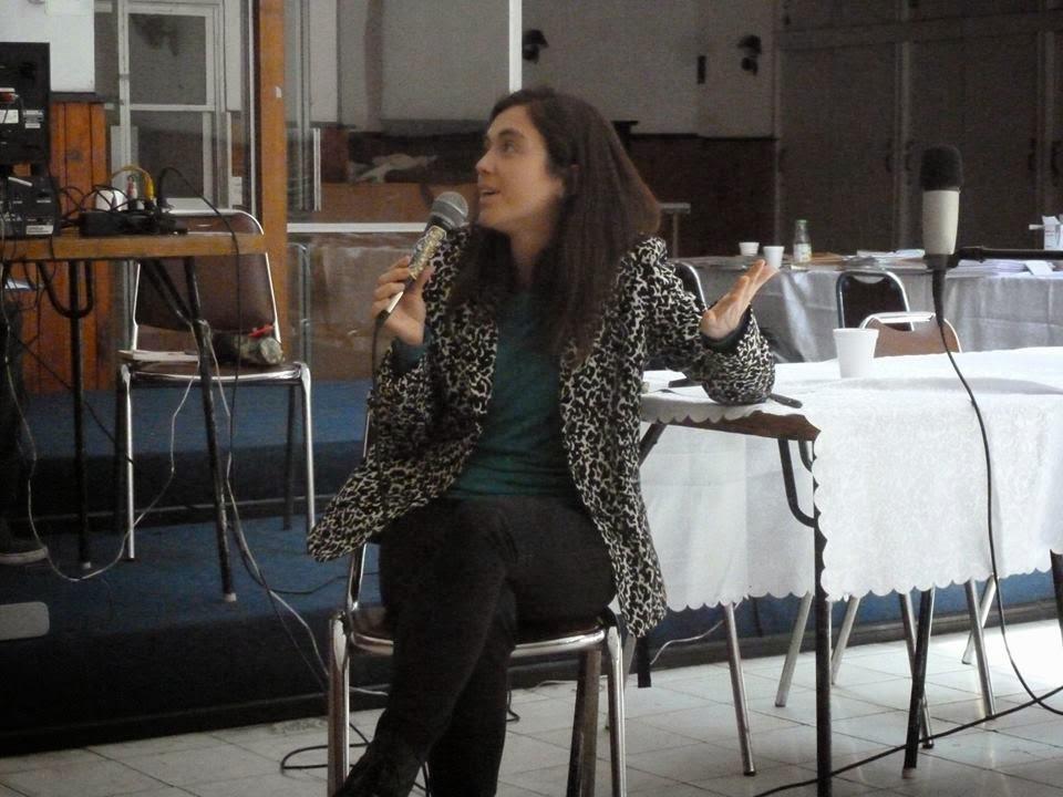 María de los Ángeles Tapia, socióloga del Observatorio Cultural del Departamento de Estudios del CN