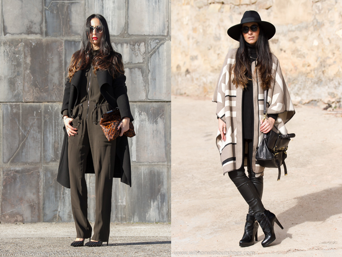 Resumen de los looks de Marzo de la blogger de Valencia withorwithoutshoes con total look de Zara