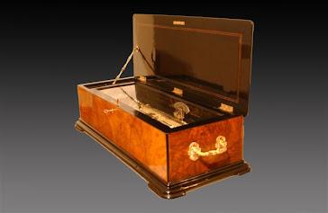 1875 Nicole Freres antigua caja de música suiza