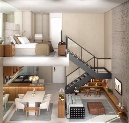 duplex campo belo 1 dormitório