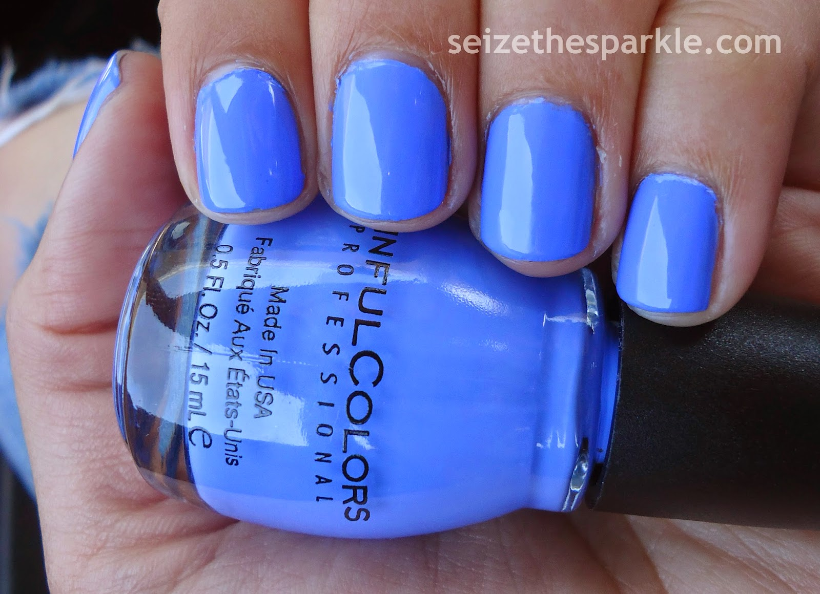 SinfulColors Blue La La