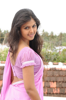 Monal Gajjar in Pink Saree Pink Blouse LQ Spicy Pics