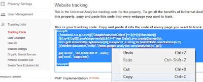 Cara Daftar dan Memasang Kode Google Analytics di Blog