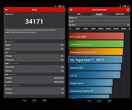 Cherry Mobile Tegra Note 7 Specs Antutu Benchmark Philippines