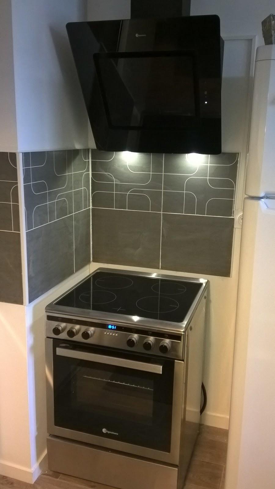B t s installation et branchement four et plaque electrique hotte aspirant - Branchement electrique hotte de cuisine ...