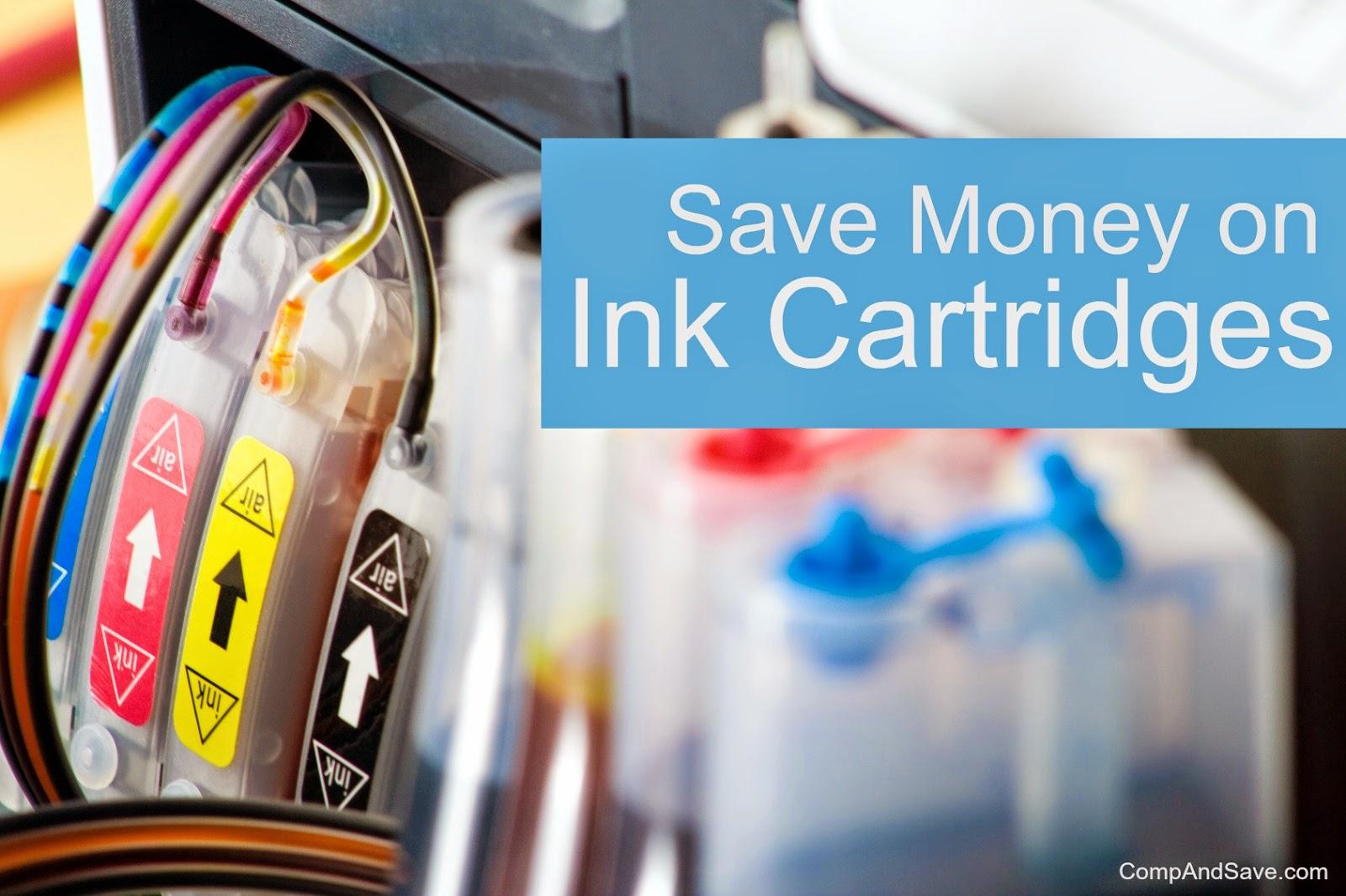 save money on ink cartridges