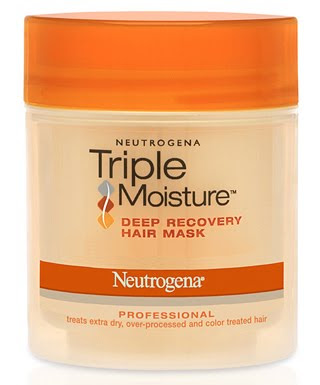 Neutrogena, Neutrogena hair products, Neutrogena hair mask, Neutrogena Triple Moisture, Neutrogena Triple Moisture Deep Recovery Hair Mask, hair, hair products, hair mask, mask