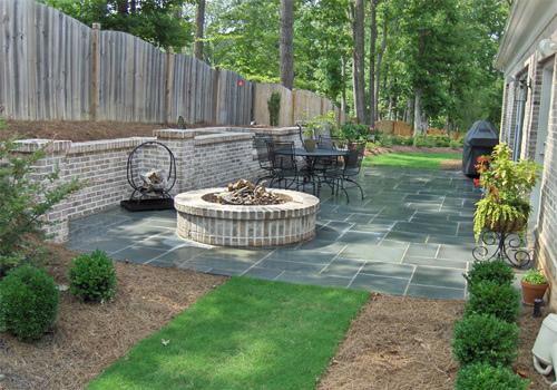 Dise o de fogatas patios y jardines - Disenos de patios ...