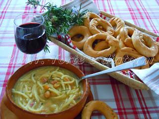 pasta e ceci ricetta tradizionale toscana