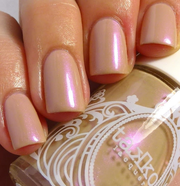 Blushing Nude, Takko Lacquer, swatch