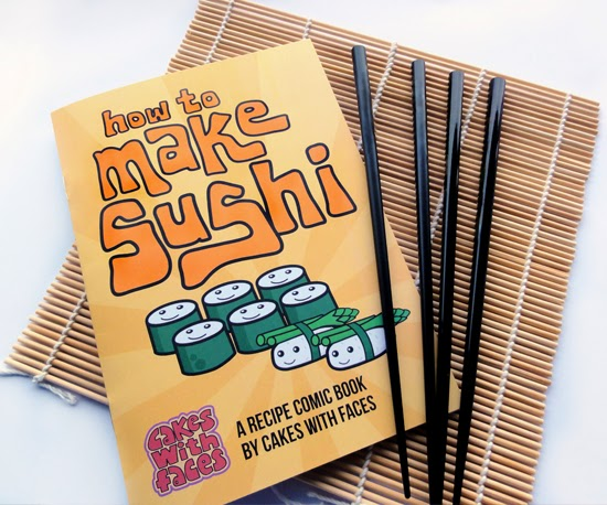 Cakes with Face Sushi Recipe Book