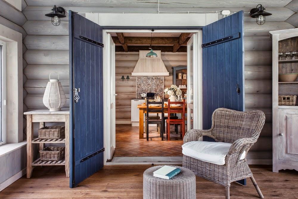 Интерьер в скандинавском стиле фото в деревянном доме