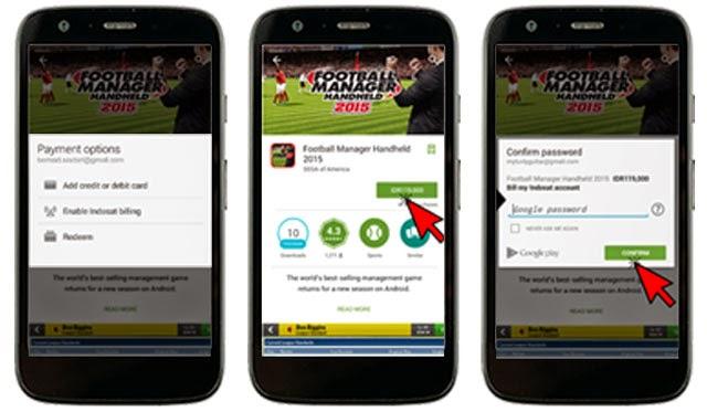 Cara Beli Aplikasi di Google Play dengan Pulsa