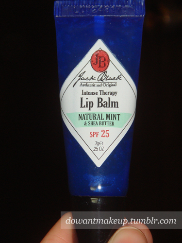 Review Jack Black Intense Therapy Lip Balm Spf 25 Do Want Makeup - No not that jack black it s okay i thought so too