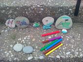 Zωγραφίσαμε πέτρες