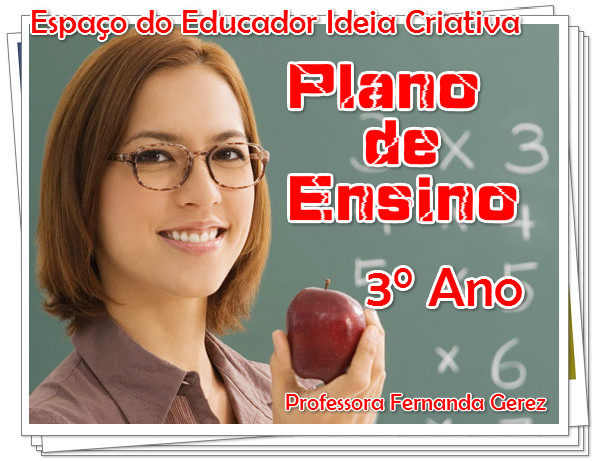 Plano Anual 3° Ano Ensino Fundamental