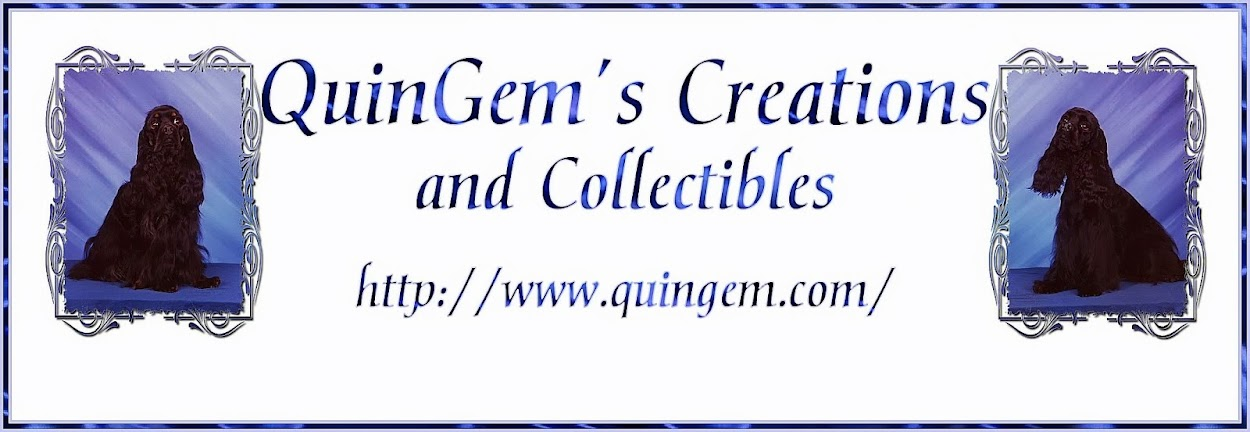 QuinGem's Creations, Collectibles and Tasty Treats