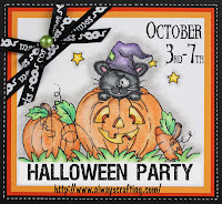 Halloween Party at Always Crafting