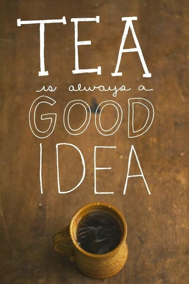 Tea, tea and tea .....
