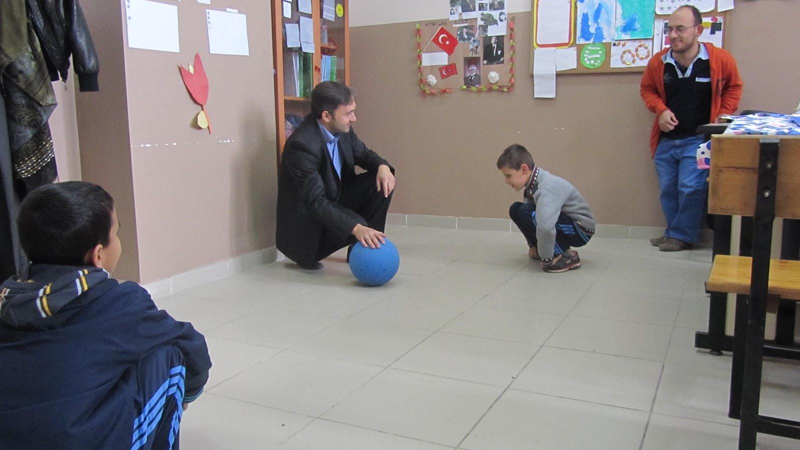 Görme engelli çocuklar için oyun hazırlama